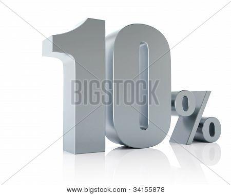 Ten percent 3D in metal
