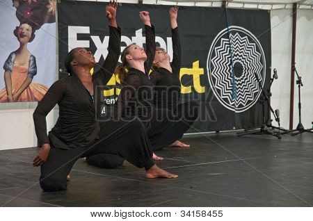 Dancers from State of Emergency Dance Company