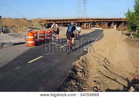Bike Path Detour