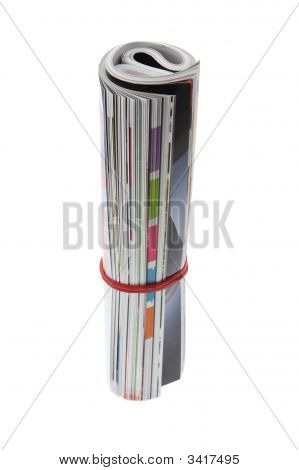 Rolled-Up Magazine