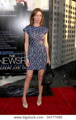 LOS ANGELES - JUN 20:  Julianne Nicholson arrives at HBO's