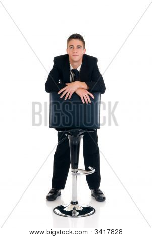 Vigorously Acting Businessman