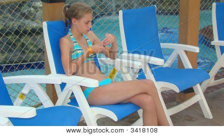 Pool Side Texting