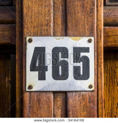 N. º 465