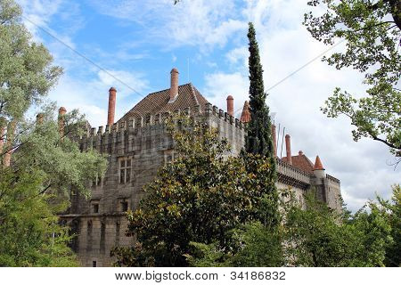 Palace Of Duques De Braganca, Guimaraes, Portugal
