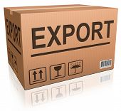 export cardboard box freight transportation international trade import and exportation worldwide bus