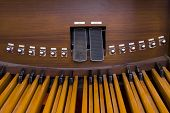 Church Organ Pedals
