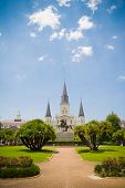 Jackson Square and Saint Louis Cathedral