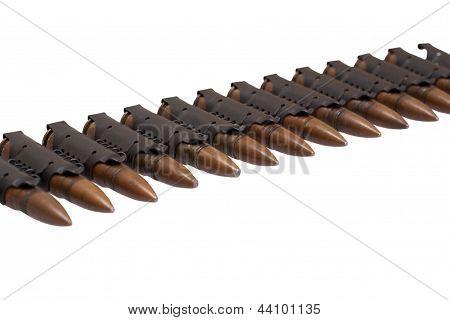 Black Chain Of Powerful M1943 Cartridges