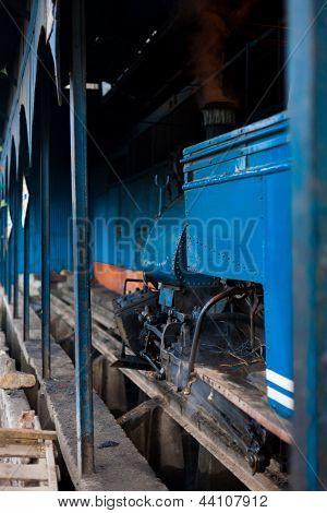 Toy Train Engine Shed Darjeeling India Railyway