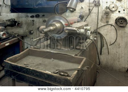 Brake Lathe Horizontal