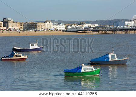 Weston-super-Mare Bay and Pier Somerset