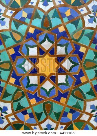 Arabic Tile Background