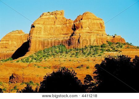 Sedona Red Rock Cliffs
