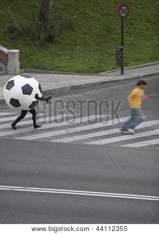 Soccer Ball Disguise