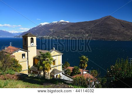 Church Of San Bartolomeo At Lago Maggiore