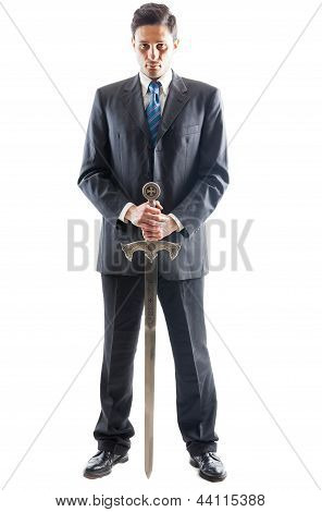 Aggressive Businessman