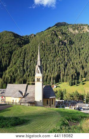 Church In Alba Di Canazei
