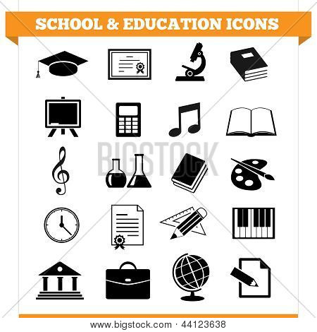 Escuela y los iconos de la educación