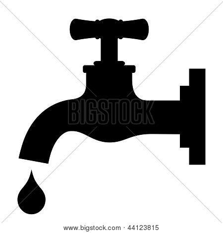 Vector tap symbol