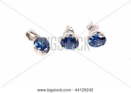 Silver Jewelery Set