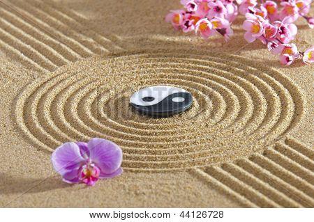 Japanischer Zen-Garten