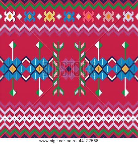 Seamless Ethnic Pattern