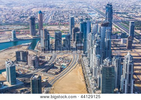 Downtown Dubai view