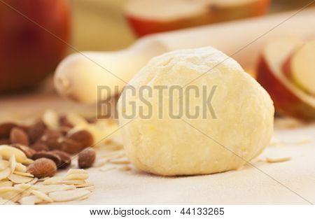 Apple Pie Ingredients.