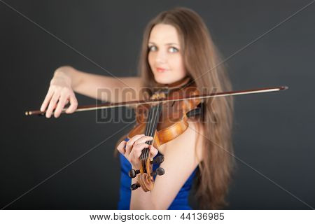 Portrait Of Violin