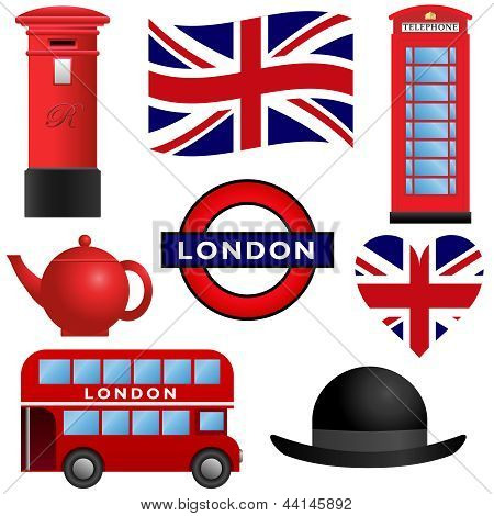 Travel Icons - London and UK