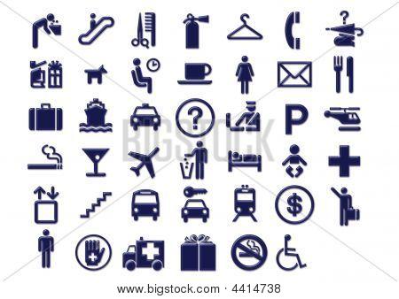 Icons4 de transporte