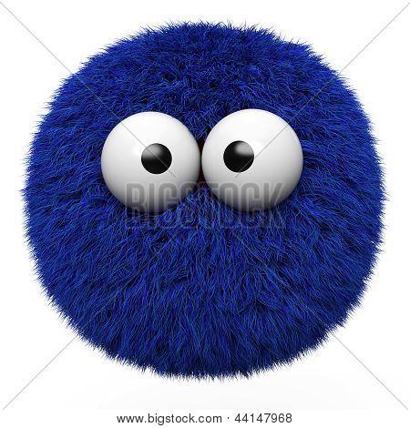 Blue Furr Ball