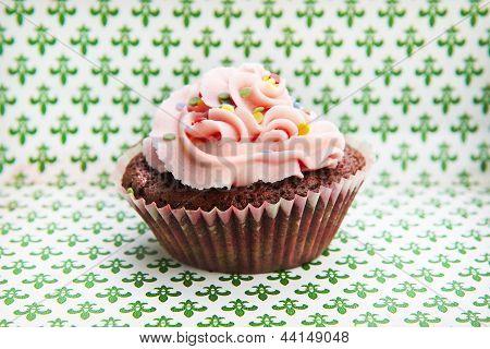 A delicious cupcake