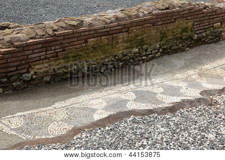 Mosaic In Capo Di Bove At Via Appia Antica - Rome, Italy