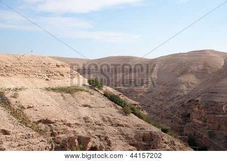 Hiking In Judean Desert
