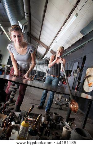 Glass Art Creation Team