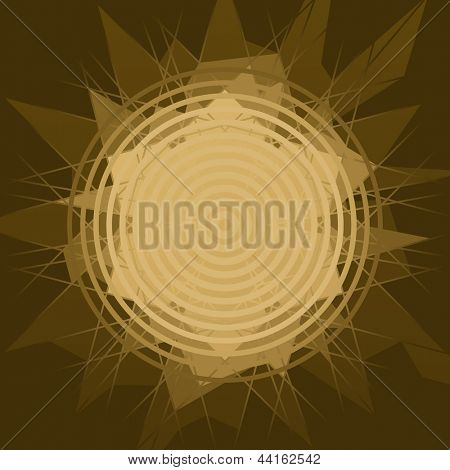 vector brown shine background