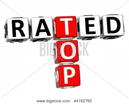 3D Top Rated Crossword