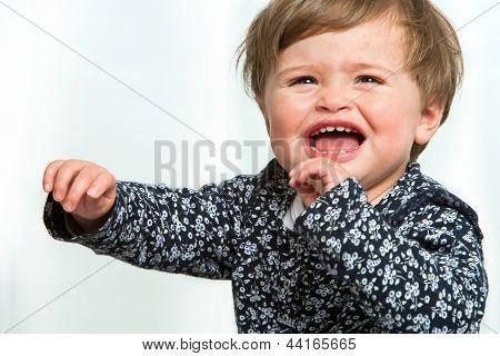 Toddler Crying.