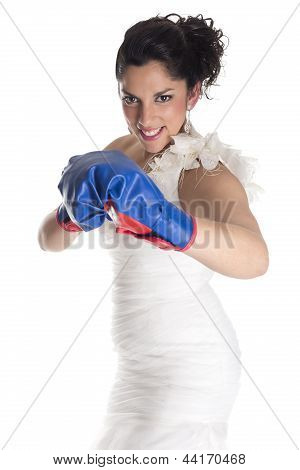 Bride Fighting Hit