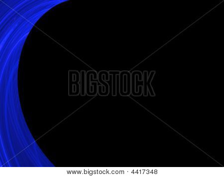 Blue And Black Powerpoint Background