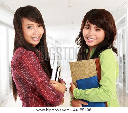 Two Young Student
