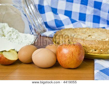 Apple Pie And Flour