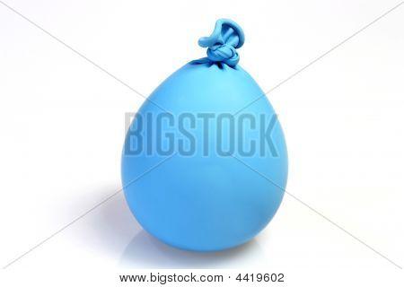 Blue Kneating Ballon