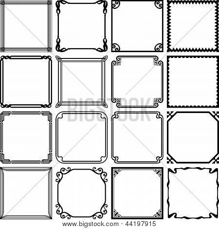 Decorative simple frames