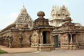 pic of bhakti  - Temple of God Vishnu in Kanchipuram India - JPG