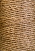 image background coil of hemp thread