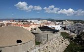 pic of tarifa  - View over the city of Tarifa Andalusia Spain - JPG