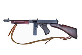picture of tommy-gun  - WWII period Tommy - JPG